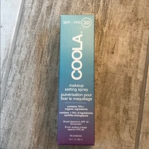 New in Box Coola Makeup Setting Spray with SPF 30